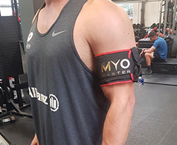 MyoCuff single arm cuff